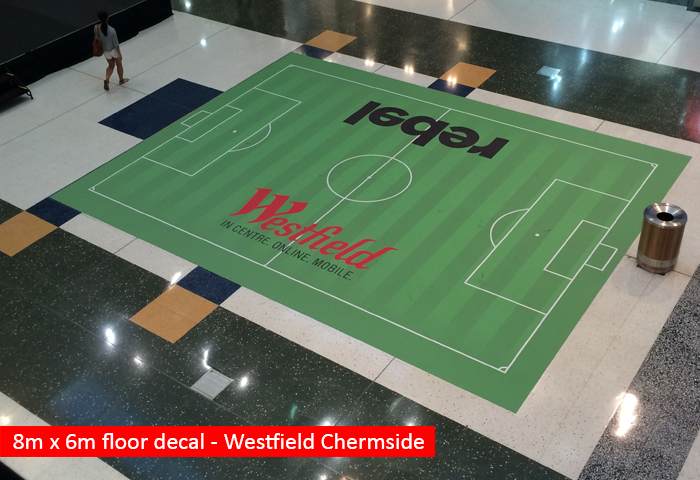Westfield Chermside Floor Graphic